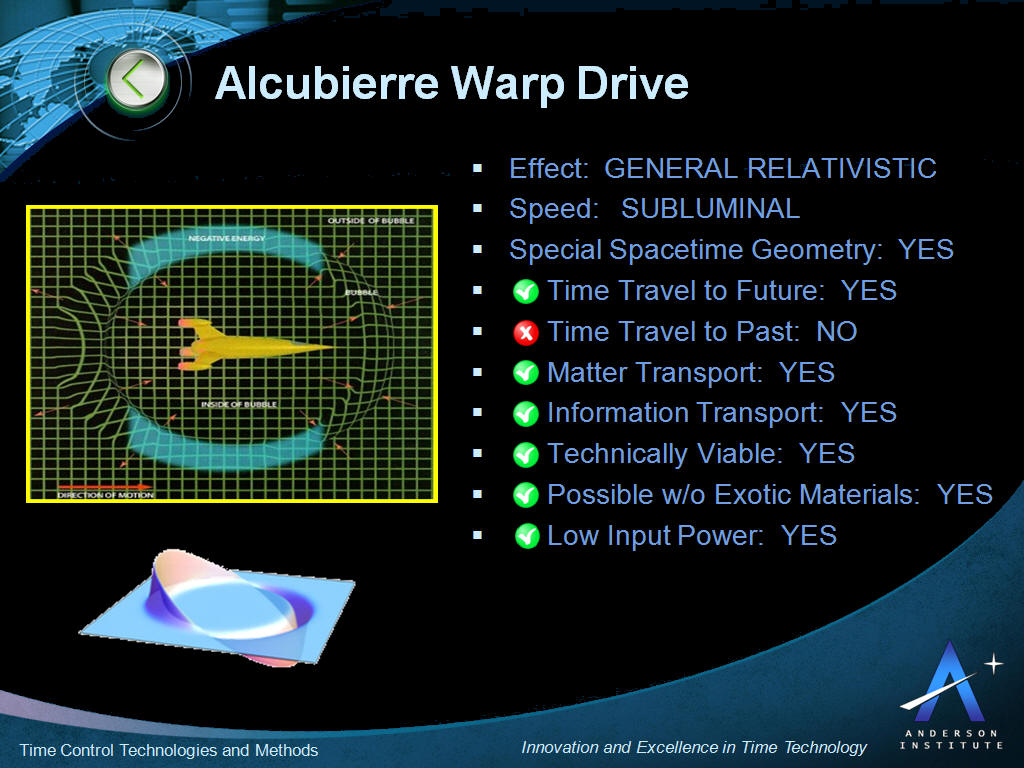Image result for Alcubierre Drive