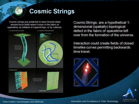 Cosmic String Time Control and Time Travel