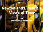 Newton and Einstein's Views of Time