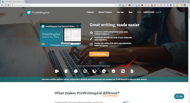 Visit-ProwritingAid-website