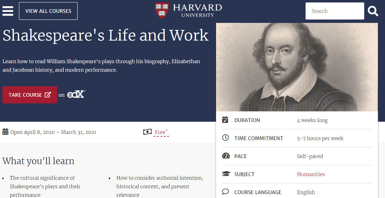 Shakespeares-Life-And-Works